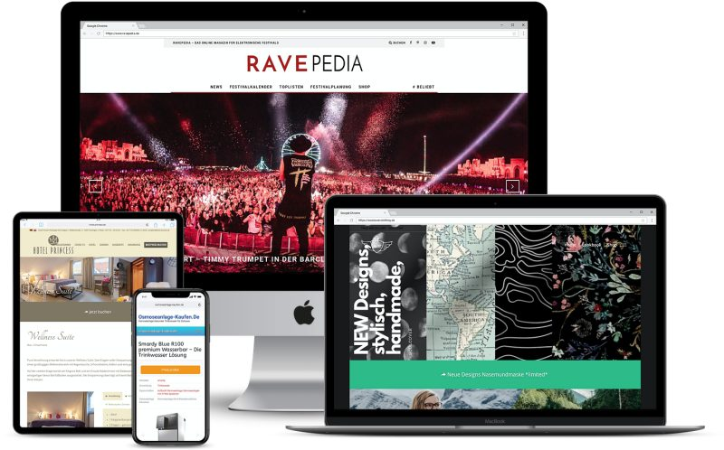 Modernes Webdesign 1